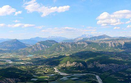 La vallée du Buech
