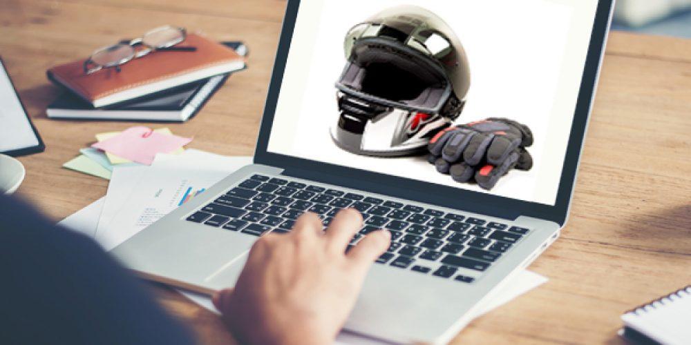 Vente en ligne d'équipement et d'accessoires pour motocross